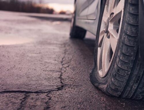 Flat Tire Change in Sandston VA